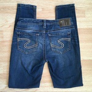Silver Jeans Suki Mid Super Skinny 27x31